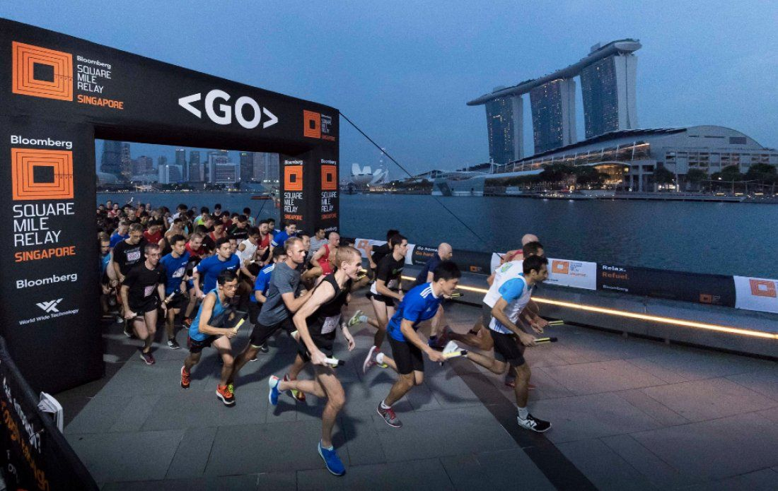 Bloomberg Square Mile Relay 2018