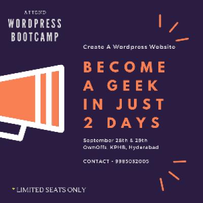 Two Days Wordpress Bootcamp