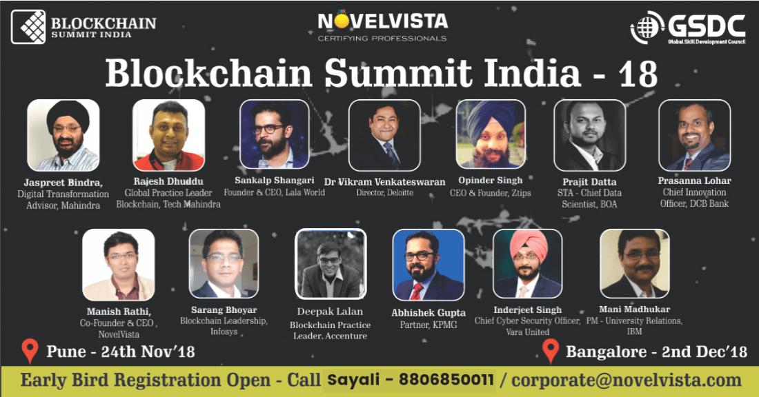 Indias Biggest Blockchain Summit Pune India