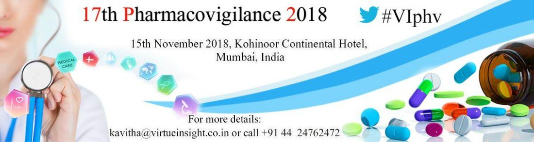 17th Pharmacovigilance 2018