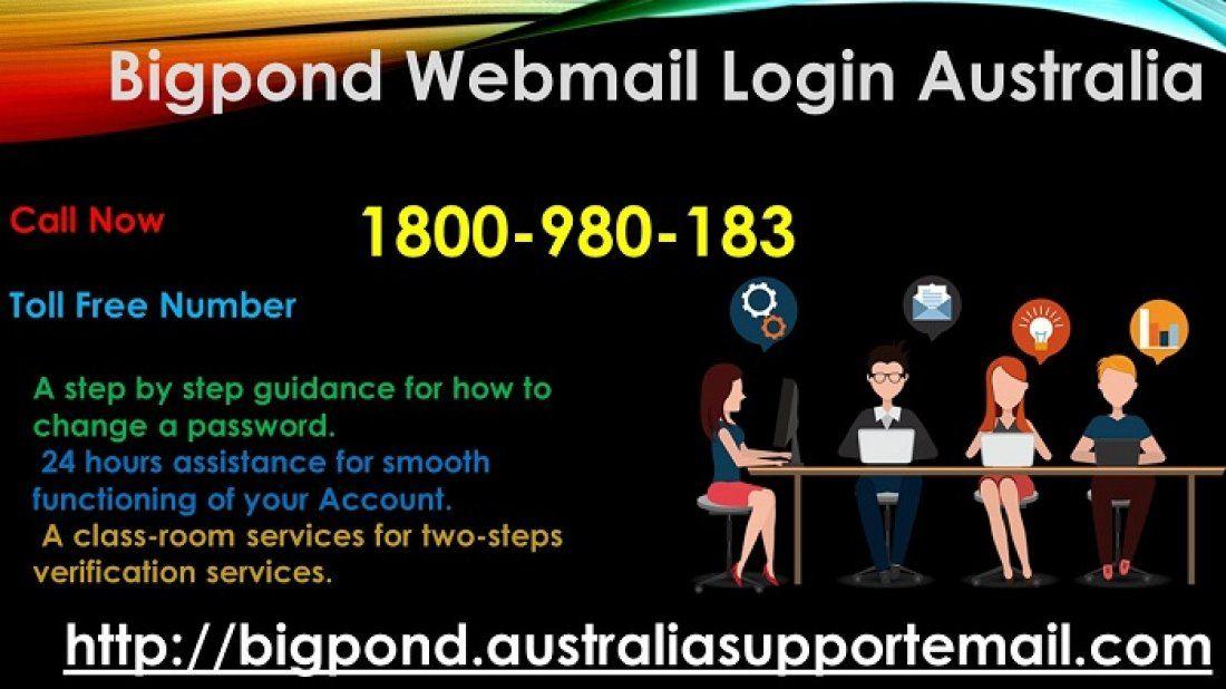 Bigpond webmail account