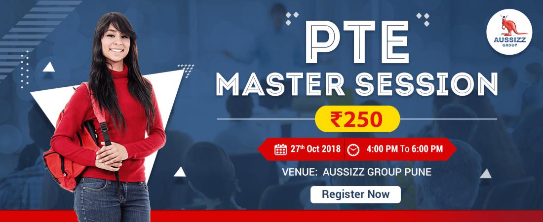 PTE Master Session