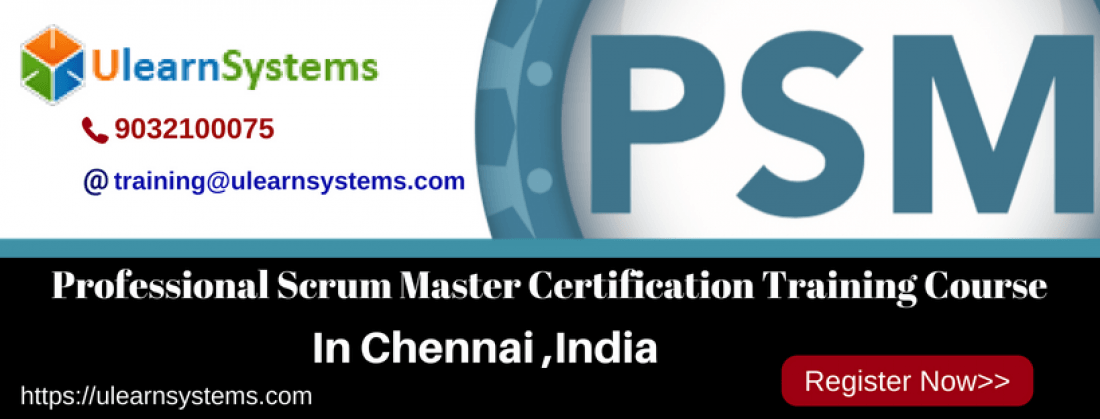 Professional Scrum Masterpsm Certification Training Course In