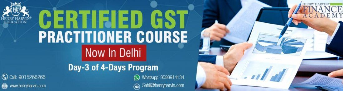 Certified GST Practitioner Course