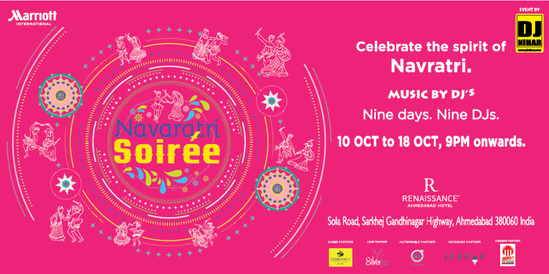 Navratri Soiree by Dj Nihar - Renaissance by Marriott | Event in Ahmedabad | AllEvents.in