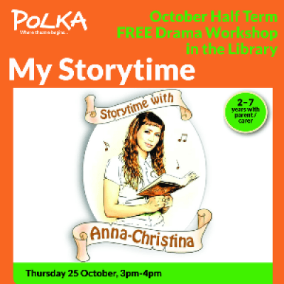 Polka Theatre Presents Storytime with Anna-Christina at Morden Library