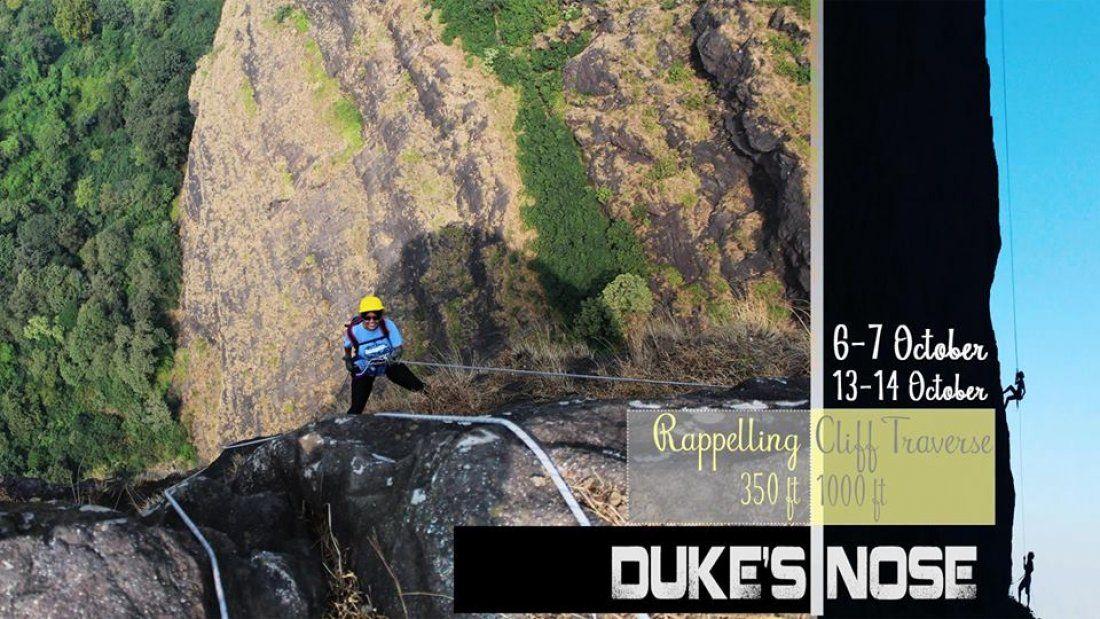 Dukes Nose-Trekking Rappelling Cliff Traversing