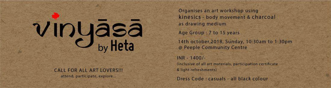 Vinyasa - An Art Workshop by Heta