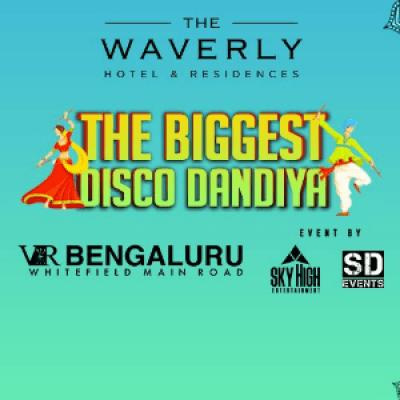 Bangalores Biggest DISCO Dandiya At Vr Bengaluru Skydeck