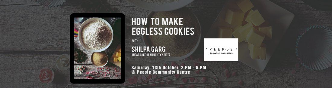 How To Bake Eggless Cookies by Shilpa Garg