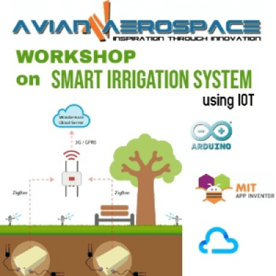 Workshop on Smart Irrigation System using IoT at Avian Aerospace