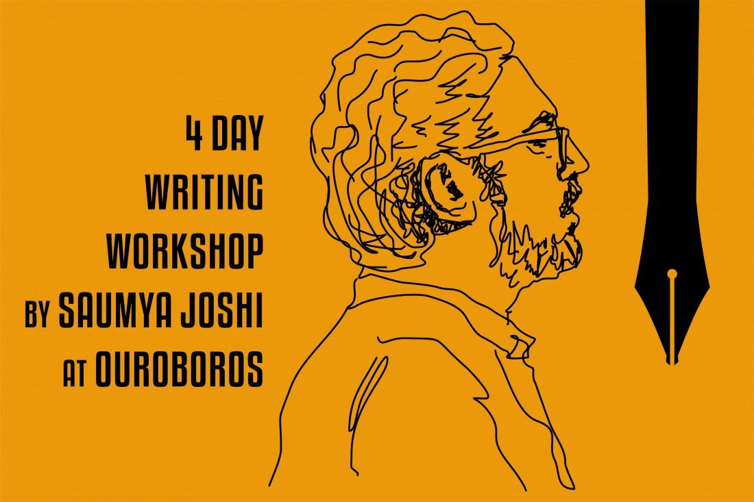 Saumya Joshi Writing Workshop