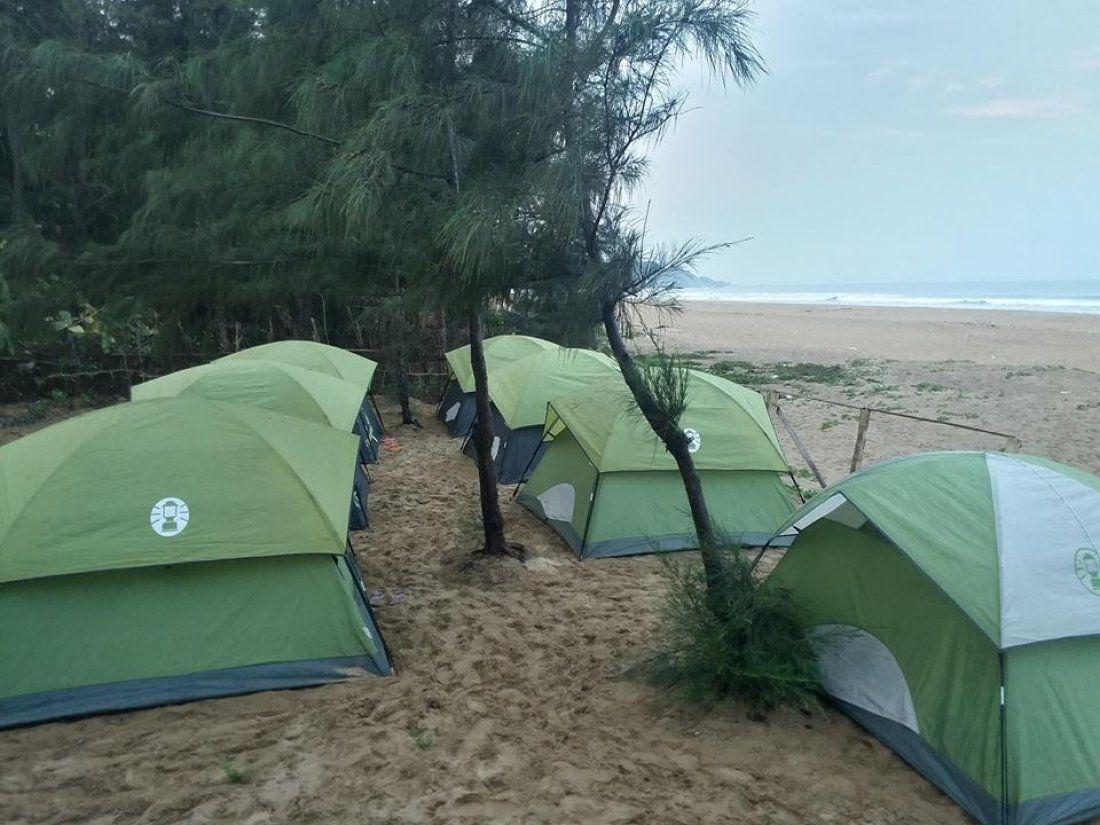 Gokarna Beach Trek Camping & Fort visit