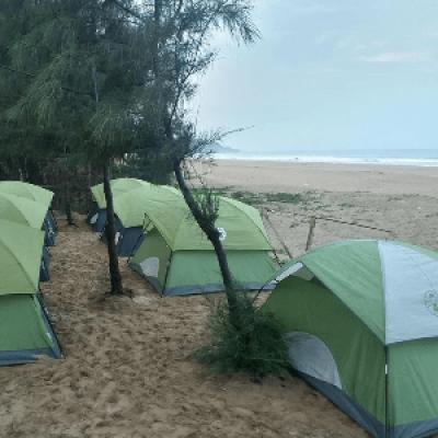 Gokarna Beach Trek Camping &amp Fort visit