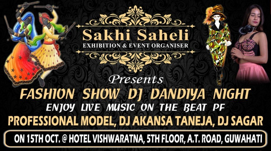 Fashion Show Dj Dandiya Night