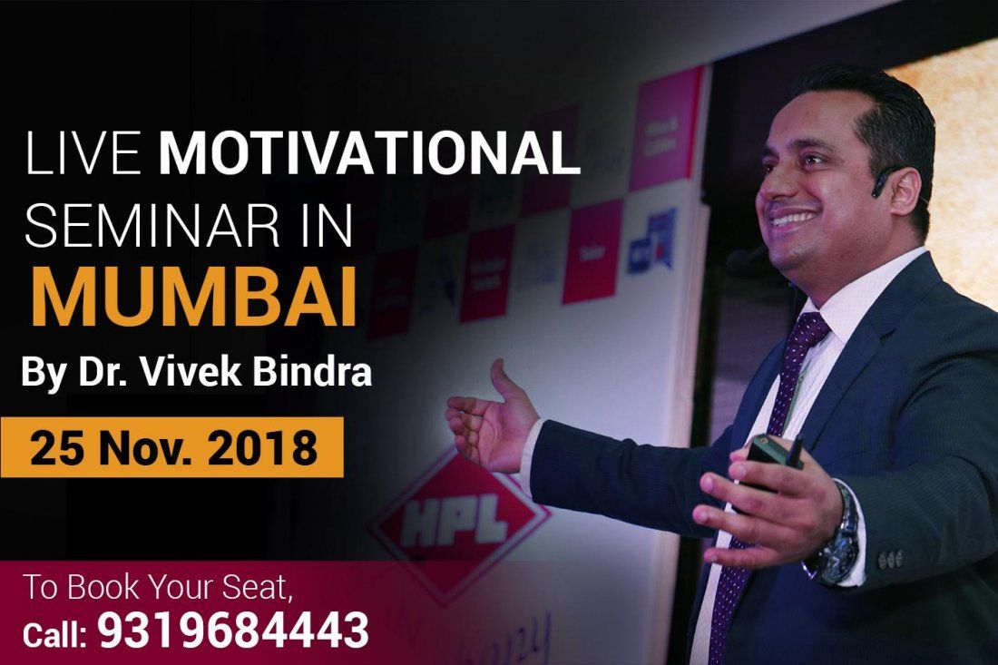 Extreme Live Motivational Seminar By DR. Vivek Bindra