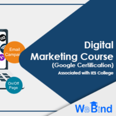 WeBind - IES College  Digital Marketing Google Certification Course.