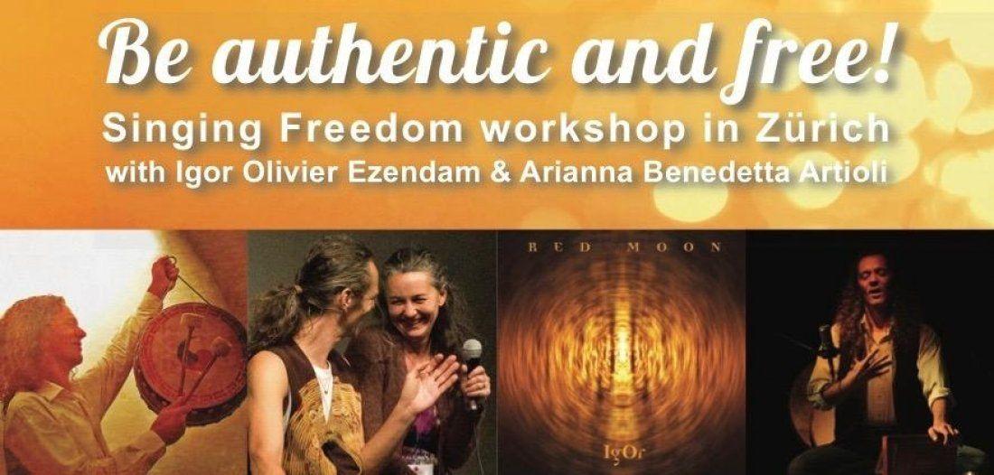 Be authentic and free Transforming voice & body work with Igor Ezedam & Arianna Artioli