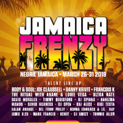 JAMAICA FRENZY-March 2019 Weekender Package now available