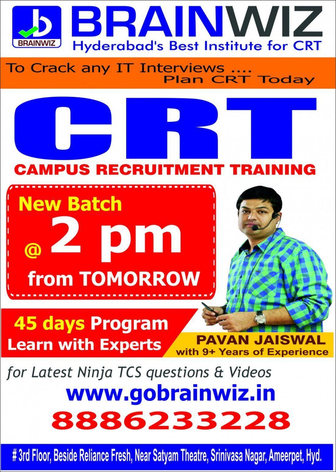 Crt Training In Hyderabadbest Aptitude Training For Amcat E Litmus