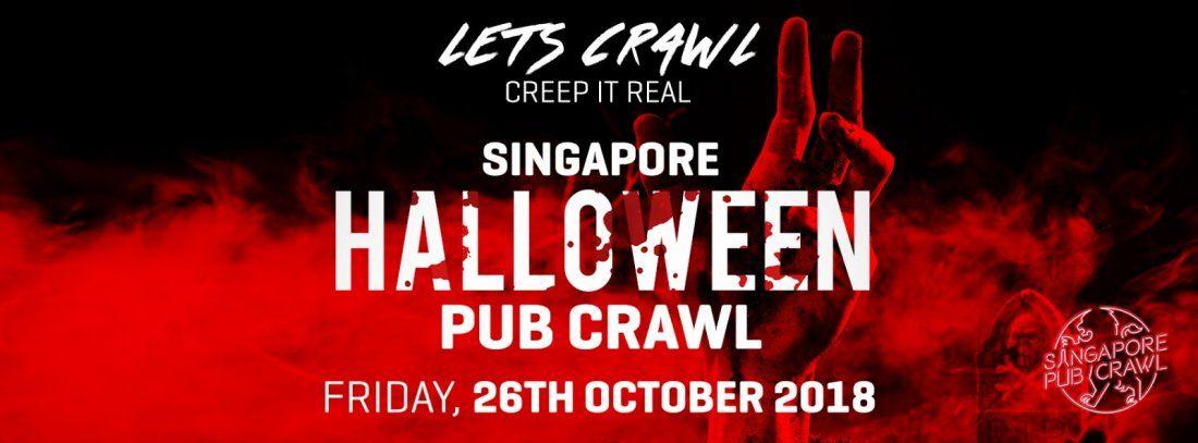 Singapore Halloween Pub Crawl 2018 (BUS PARTY)