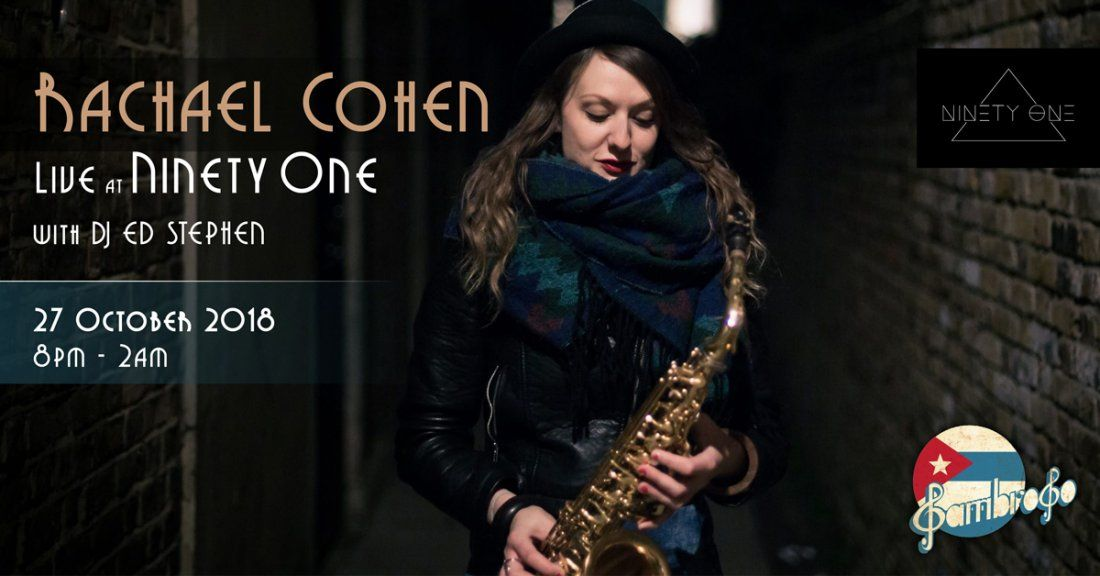 Rachael Cohen Live at Ninety One