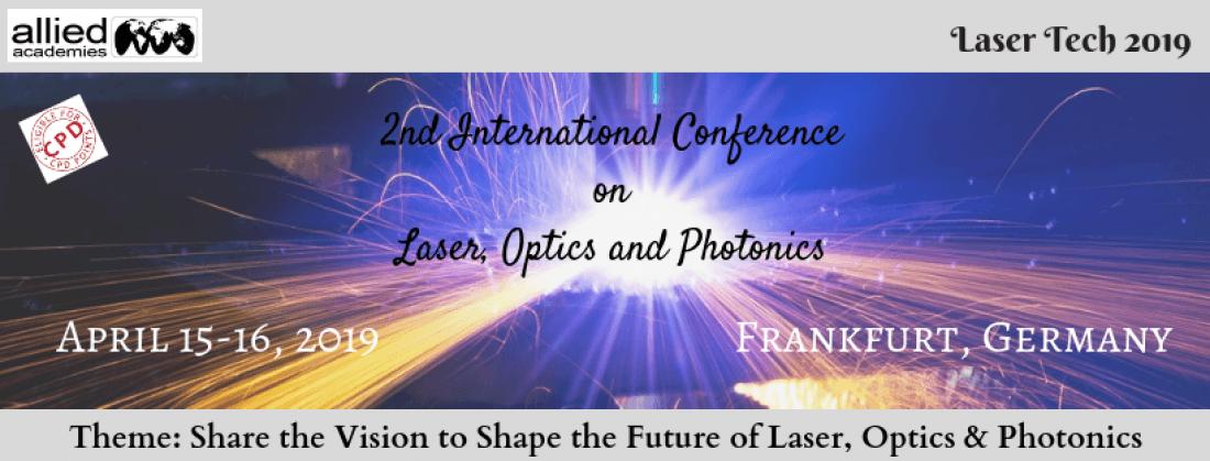 2nd International Conference on Laser Optics and Photonics