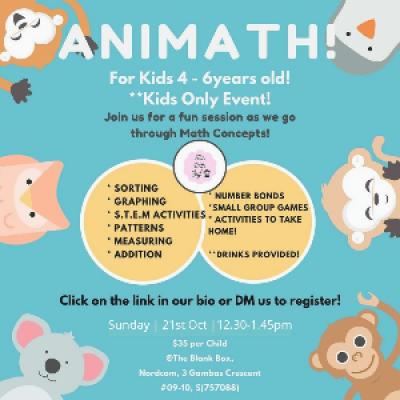 Animath - A Math Workshop For Kids
