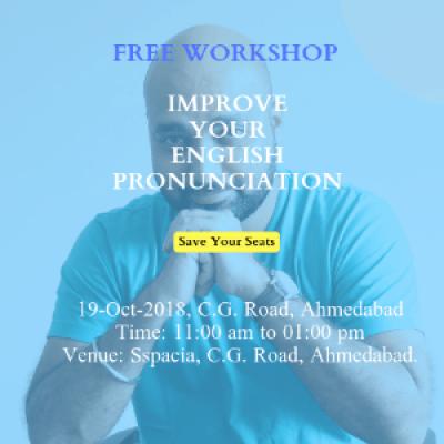 [FREE] Improve your English Pronunciation Workshop