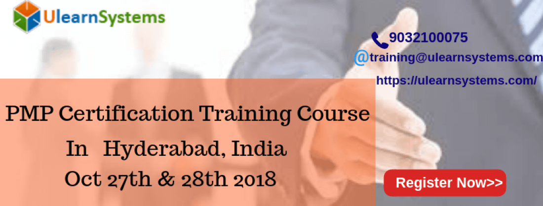 Pmp Certification Training Course In Hyderabadindia At Hyderabad