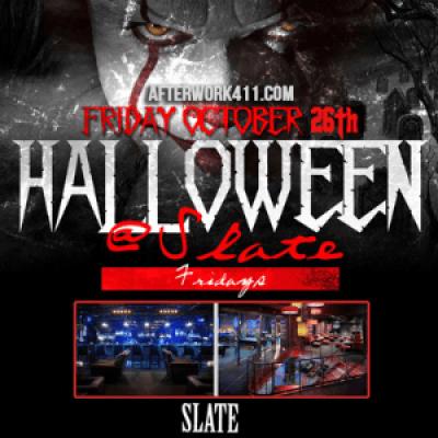 Slate NYC Haunted Halloween Party