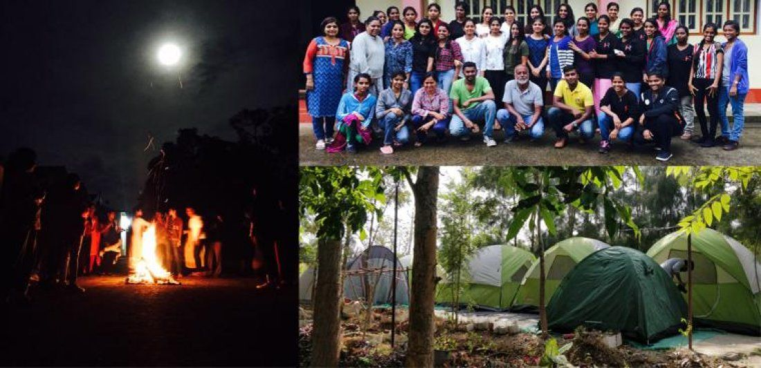 New Year Family And Friends Night Camping - 2019 Tent  Dormitory stay