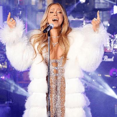 Mariah Carey at Radio City Music Hall New York NY