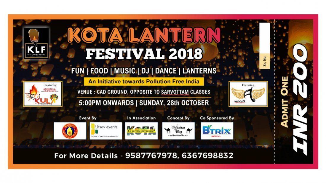 Kota Lantern Festival 2K18