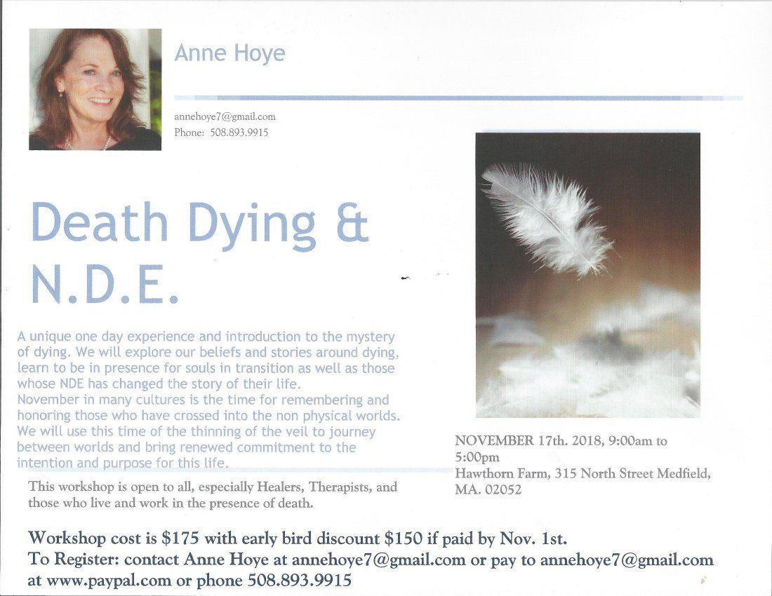 Death Dying & N.D.E. Workshop