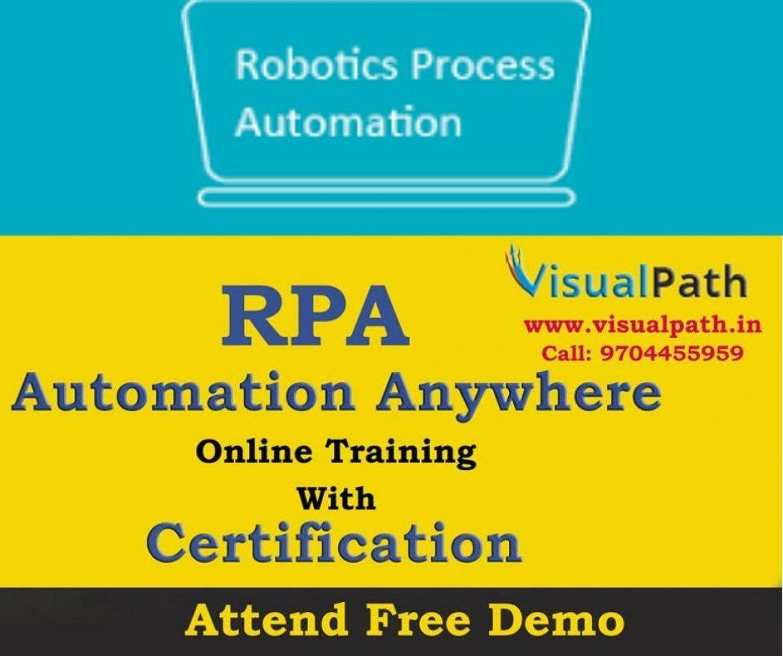 Best Rpa Automation Anywhere Training At Visualpath Devops Awsms