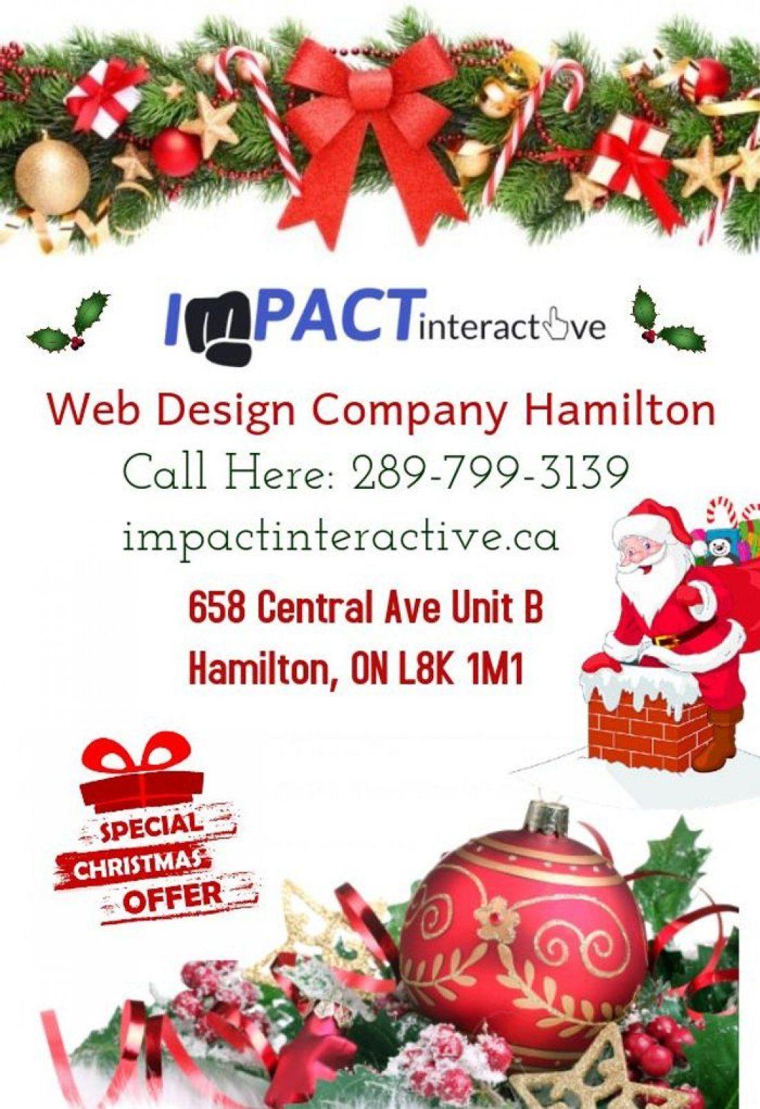 Christmas Special Offer- Web Design Company Hamilton
