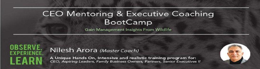 CEO MENTORING & EXECUTIVE COACHING BOOT CAMP