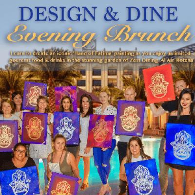 Design &amp Dine - Al Ain Evening Brunch