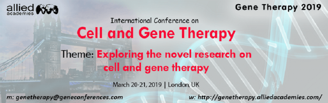 International Conference on Cell and Gene Therapy