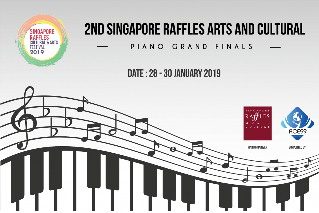 2nd Singapore Raffles Cultural and Arts Festival International Piano Competition 2019
