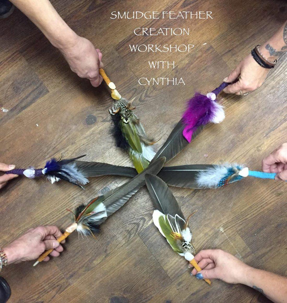 Smudge Feather Creation Workshop