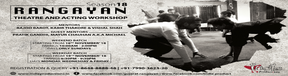 Rangayan - Theatre & Acting Workshop (Season 18)