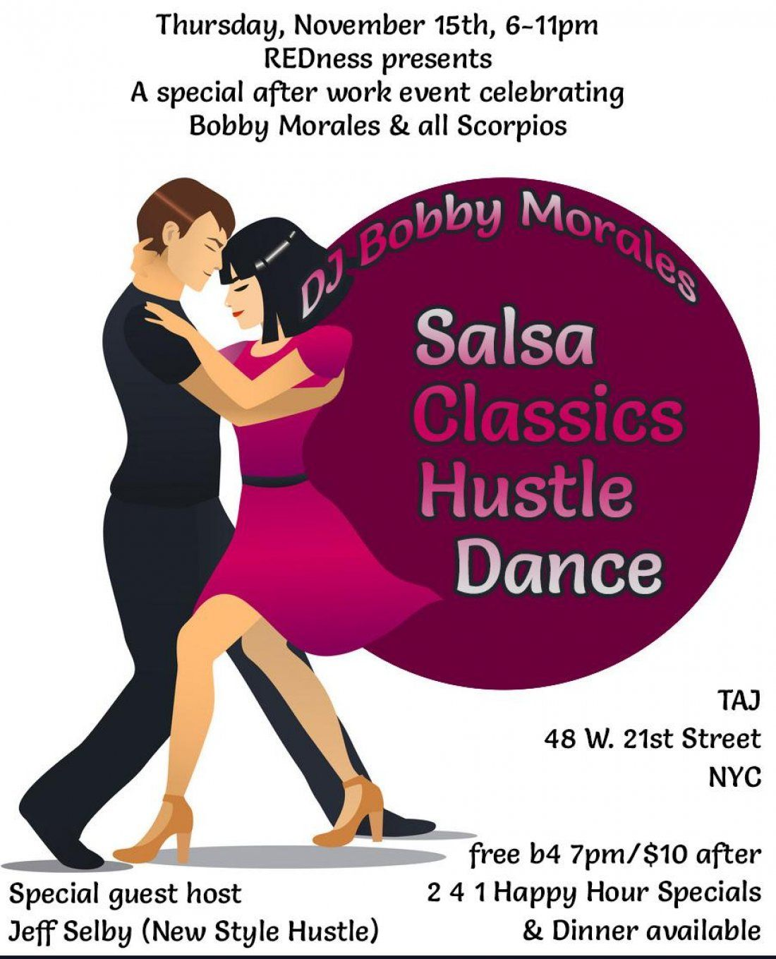 1115-After Work-Salsa Classics Hustle Dance