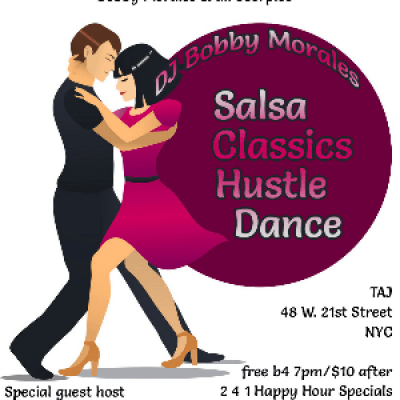 1115-After Work-Salsa Classics Hustle Dance