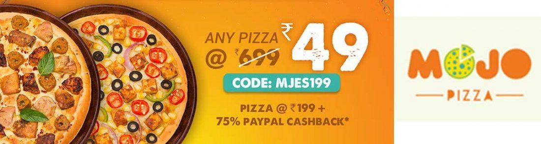 MojoPizza Diwali Week Offer Any Pizza 49