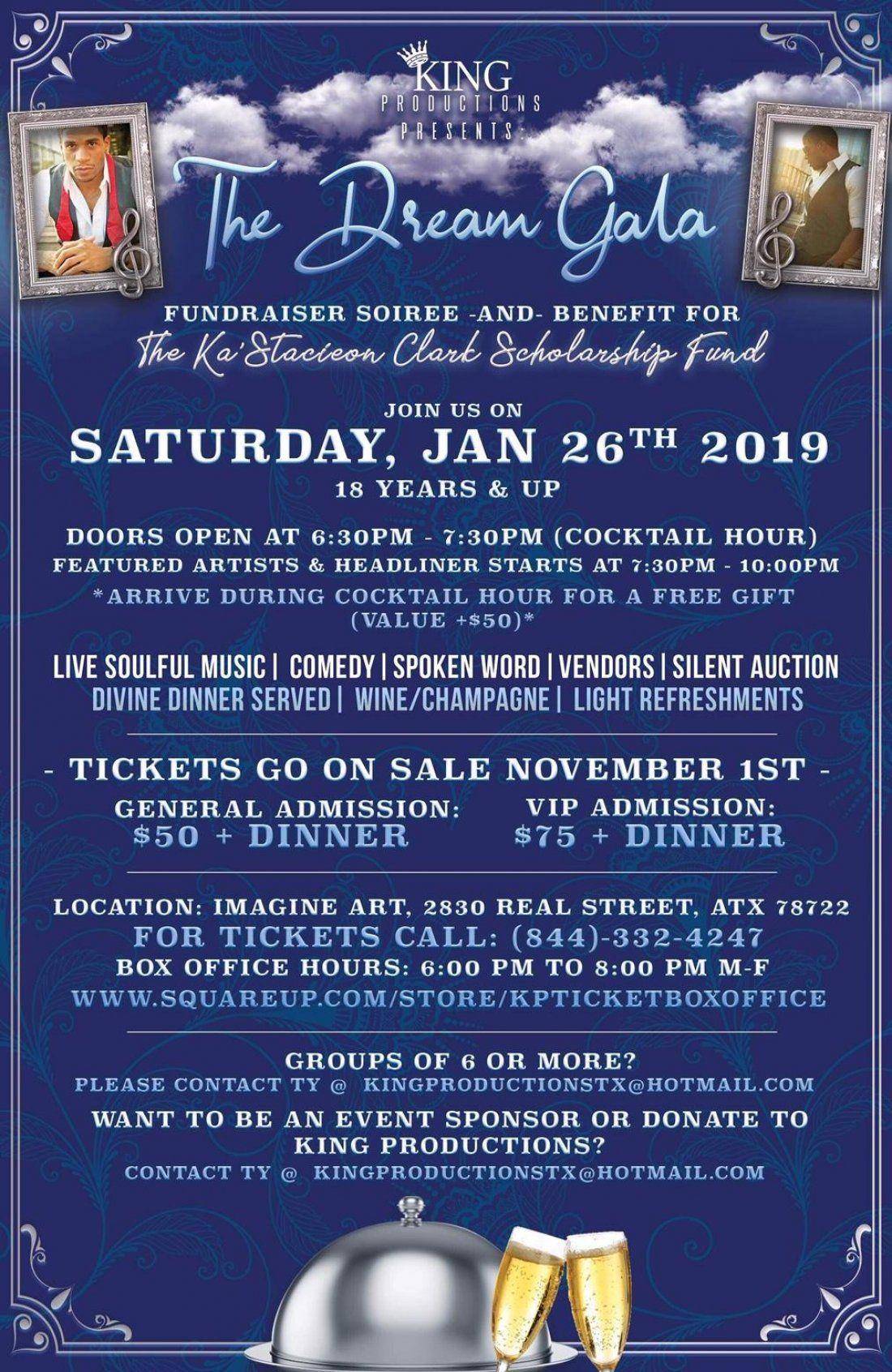 Dream Gala Fundraiser & Suicide Prevention Benefit