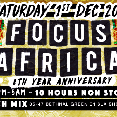 Focus Africa 8th Year Anniversary Ghana Congo Gambia Senegal