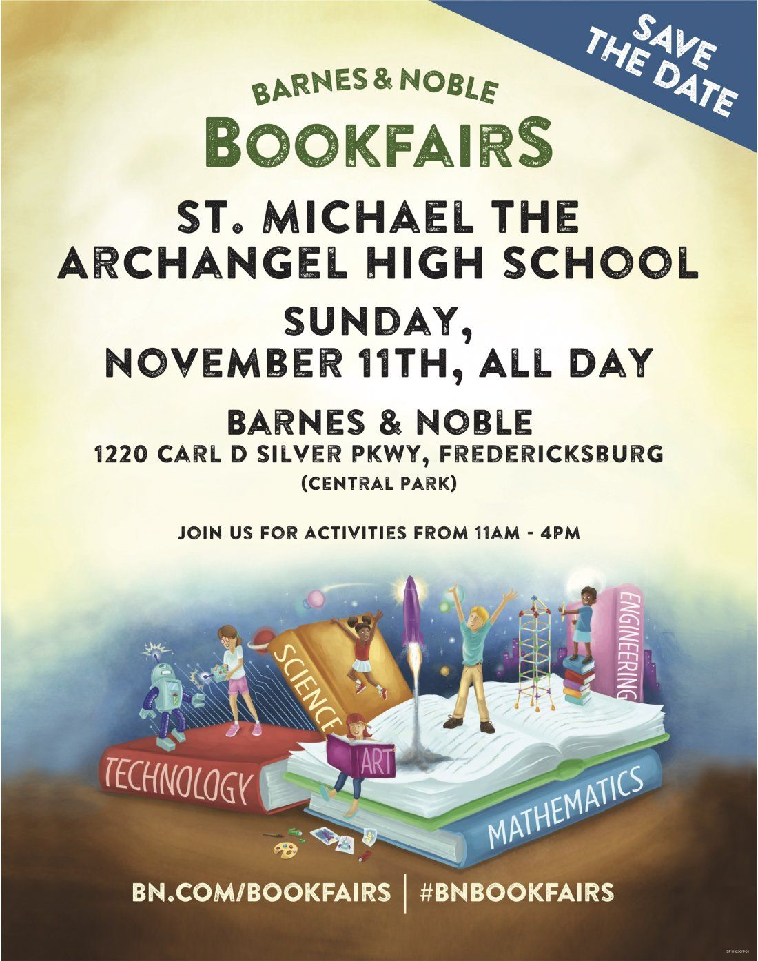 Barnes & Noble Bookfair to benefit St. Michael High School