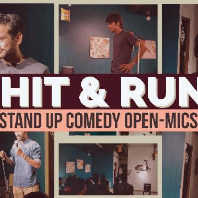 Hit &amp Run 25.0 - Standup comedy open mic